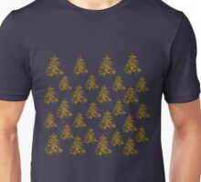 Sparkly Christmas tree, stars Unisex T-Shirt