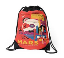 Tour Mars Drawstring Bag