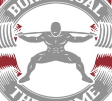 Some Step Up And Become Powerlifters (Squat) Sticker