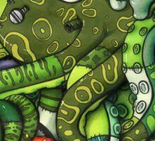 FrankenMocto Sticker
