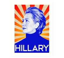 Hillary Clinton A Nasty Woman. Vote Nasty In 2016 Art Print