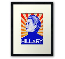 Hillary Clinton A Nasty Woman. Vote Nasty In 2016 Framed Print