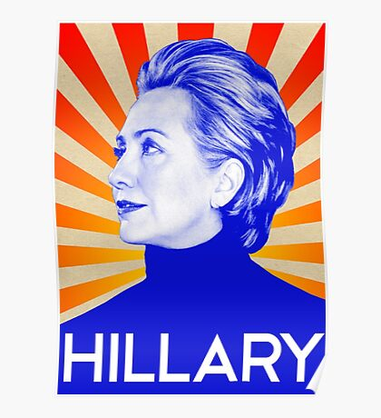 Hillary Clinton A Nasty Woman. Vote Nasty In 2016 Poster