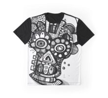 All Nighter - Day of The Dead Mask  Graphic T-Shirt