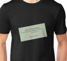 John Constantine's Business Card Unisex T-Shirt