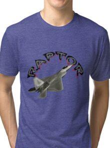Raptor Over California Tri-blend T-Shirt