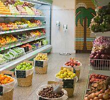 Fruit shop by Gaspar Avila