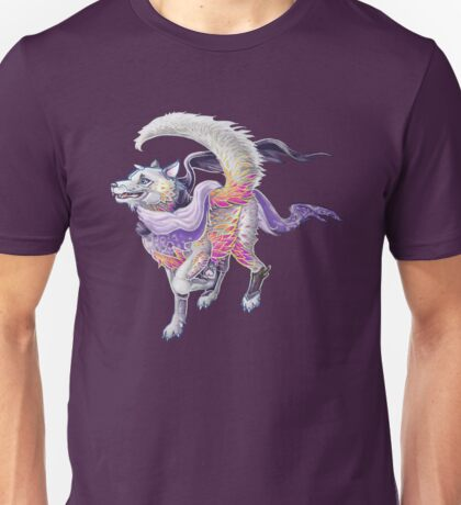 Featherfloof - Husky / Phoenix hybrid Unisex T-Shirt