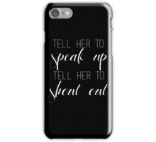 Little Me Typography iPhone Case/Skin