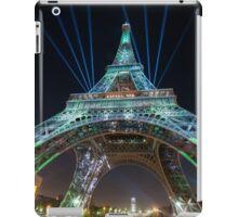 Tour Eiffel - cop21 - 002 iPad Case/Skin