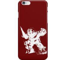 MR.BUBBLES WHITE iPhone Case/Skin
