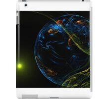 Fantastic unknown blue planet iPad Case/Skin