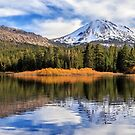 Mount Lassen Reflections Panorama by James Eddy