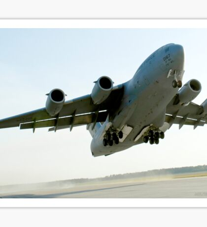 C-17 Globemaster on Takeoff Sticker