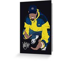 Chris Brown Greeting Card