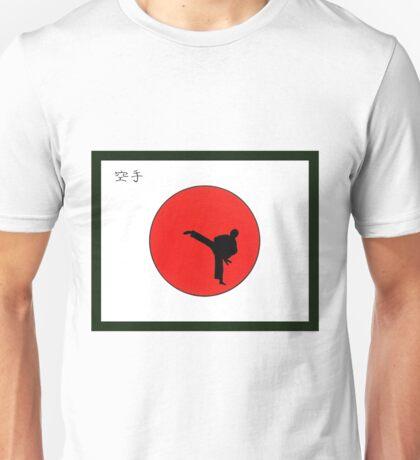 Art Of Karate Print Unisex T-Shirt