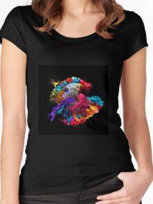 Katz in Kolorz Women's Fitted Scoop T-Shirt