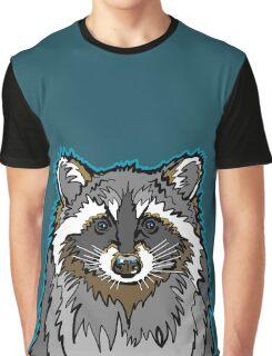 Raccoon Graphic T-Shirt