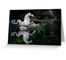 The Winterthur Seahorse Greeting Card