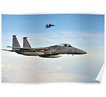 F-15C Eagles Poster