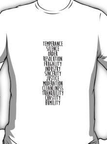 13 Virtues T-Shirt