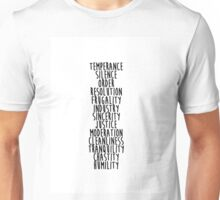 13 Virtues Unisex T-Shirt
