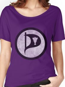 Vintage Iceland Pirate Party Women's Relaxed Fit T-Shirt