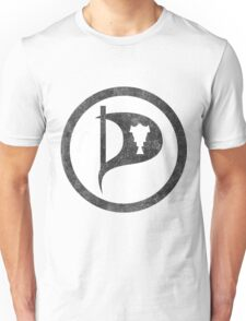 Vintage Iceland Pirate Party Unisex T-Shirt
