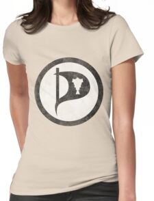 Vintage Iceland Pirate Party Womens Fitted T-Shirt
