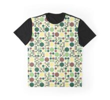 Assorted Dots Graphic T-Shirt