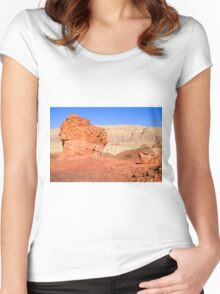 Timna natural and historic park, Israel Women's Fitted Scoop T-Shirt