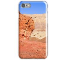 Timna natural and historic park, Israel iPhone Case/Skin