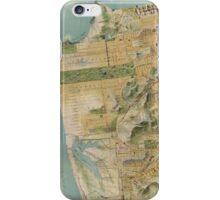 Vintage Map of San Francisco (1915)  iPhone Case/Skin