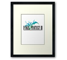 Final Fantasy III Framed Print