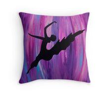 Purple Dancer Home Decor Throw Pillow