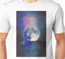 mermaid at night Unisex T-Shirt