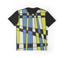 yellow&blue Graphic T-Shirt