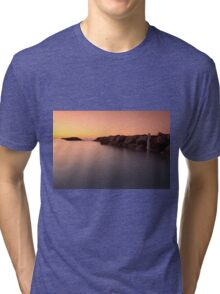 Sunset at the sea in Cesano of Senigallia Tri-blend T-Shirt