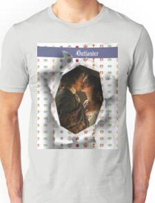 Outlander book symbols frame/Jamie & Claire Wedding Unisex T-Shirt