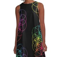 coldplay A-Line Dress