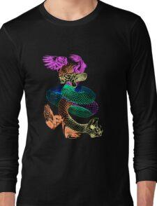 Feathered Serpent Long Sleeve T-Shirt