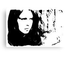 Sad Portrait Canvas Print