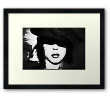 No eyes for a Hat Framed Print