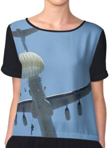 82nd Airborne Paratroopers Chiffon Top