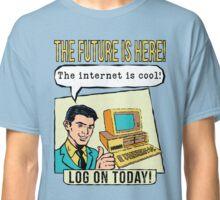 Retro Internet Comic Book Ad T Shirt Classic T-Shirt