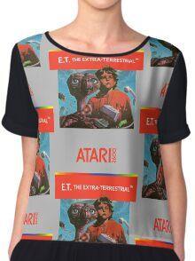 ET Atari Box Chiffon Top