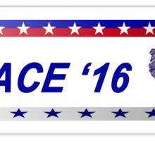 """F*ck it, Grimace '16"" bumper sticker Sticker"
