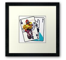 HYPER TOQ1  Framed Print
