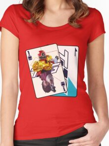 HYPER TOQ1  Women's Fitted Scoop T-Shirt