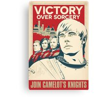 Join Camelot's Knights Canvas Print